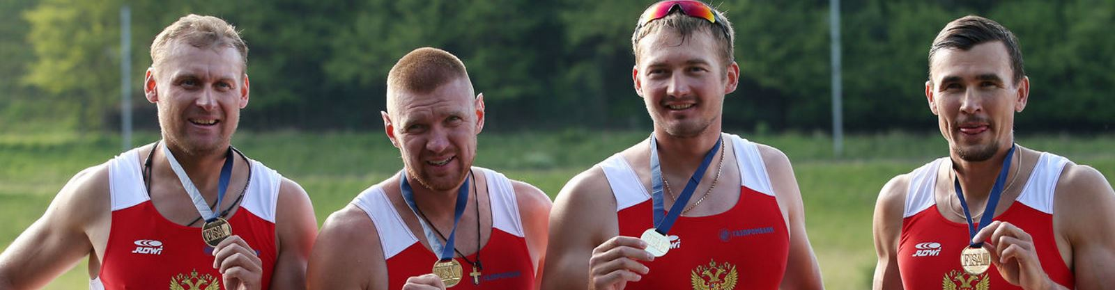 Russia rowing team