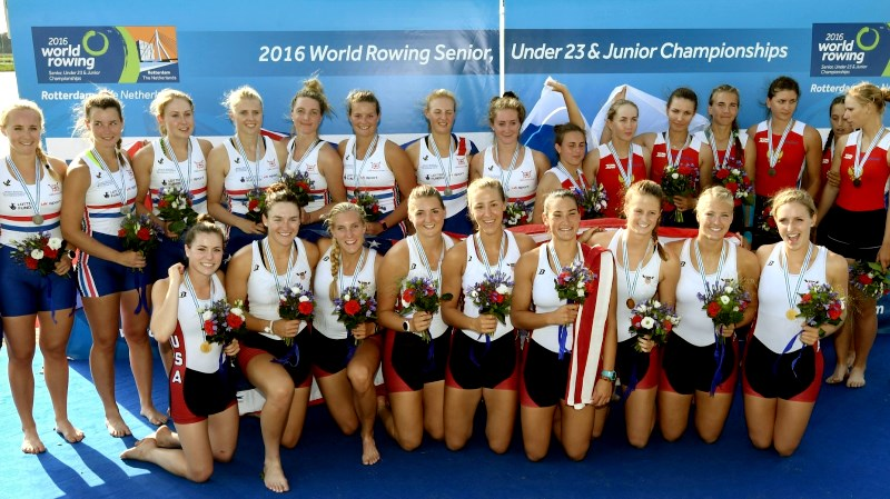 female rowing teams